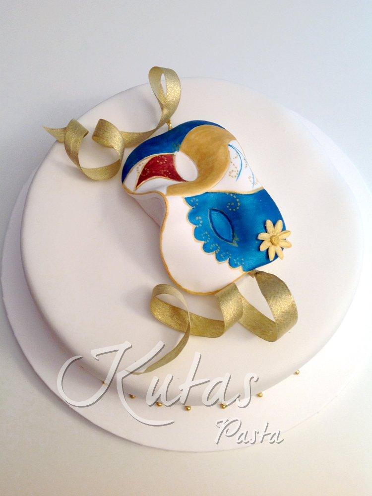 Venedik Maskesi Pasta