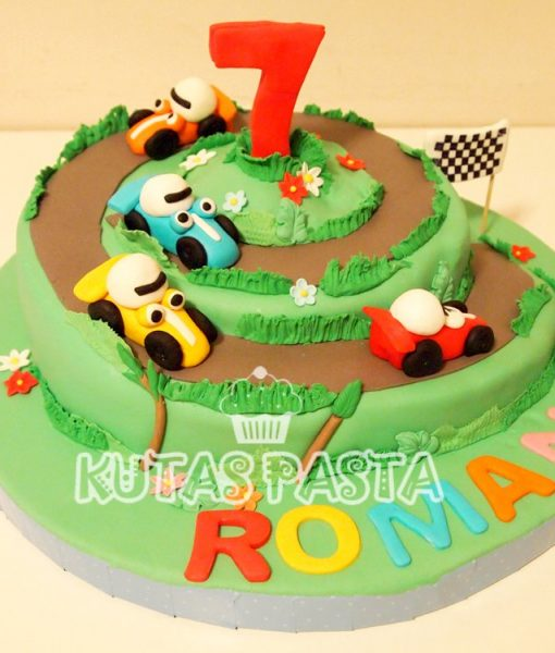 Yarış Arabalı Pasta
