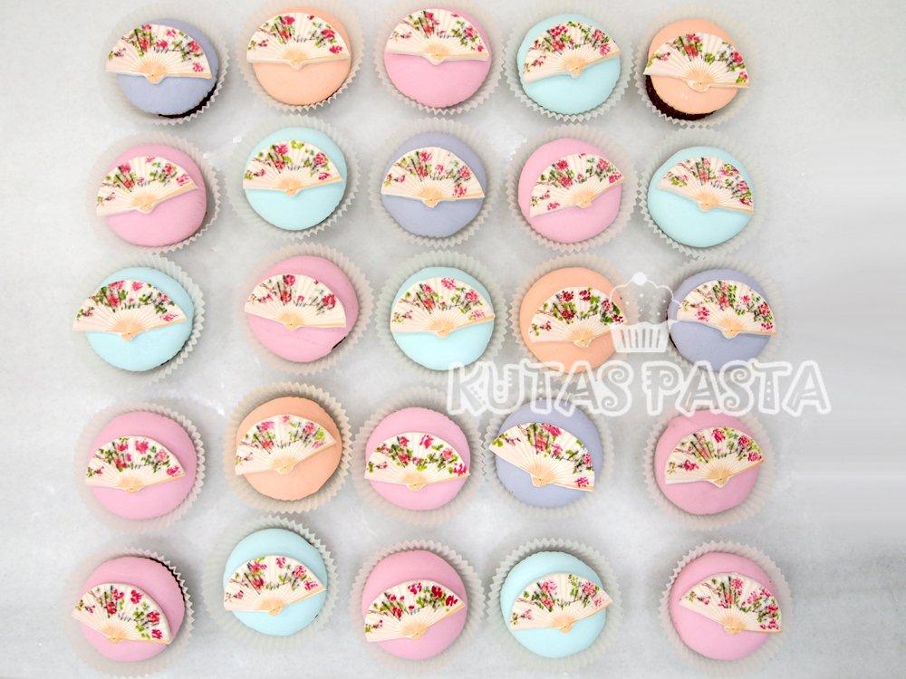 Yelpaze Cupcake