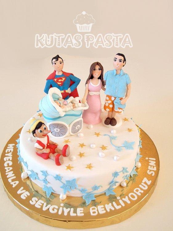Hamile Baby Shower Anne Baba Pasta