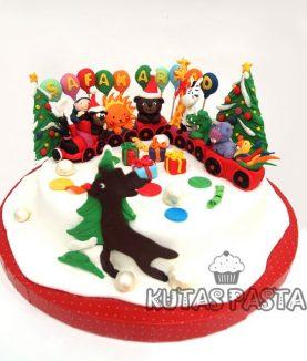 Trenli Pasta Yılbaşı Yeni Yıl