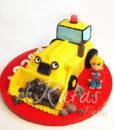 Kepçeli Pasta İş Makinesi