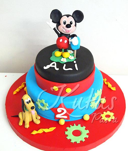 Miki mouse pasta