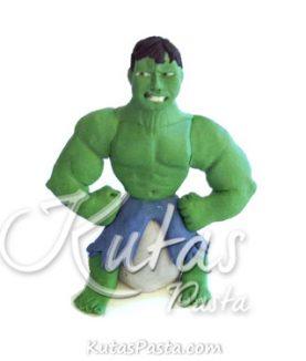 Pasta Figürü Hulk Yeşil Dev
