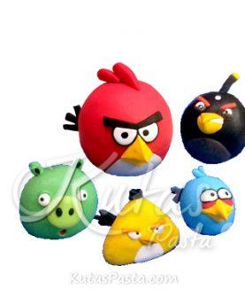 Pasta Figürü Angry Birds