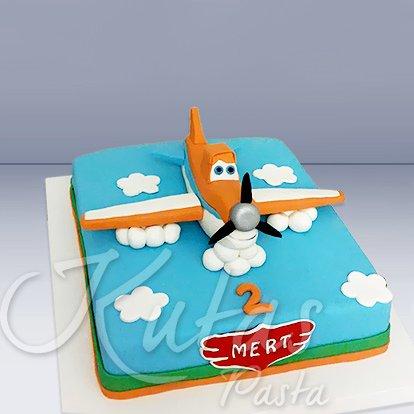 Uçaklar Tasarım Pasta