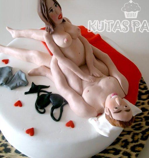 Sevişen Çift Seksi Pasta
